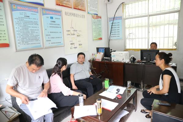 邓州法院院长杨俊华到孟楼镇调研脱贫攻坚工作