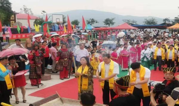 大禹文化之乡民间艺术节在登封盛大举行