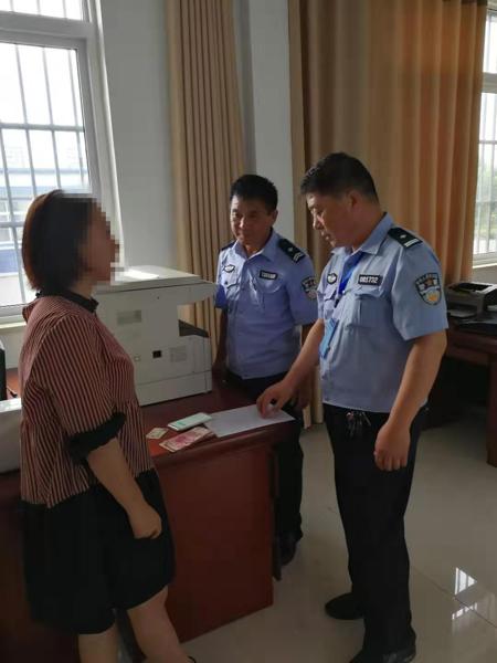 邓州孟楼:民警及时终止一起冒充公检法工作人员实施的电信诈骗案件
