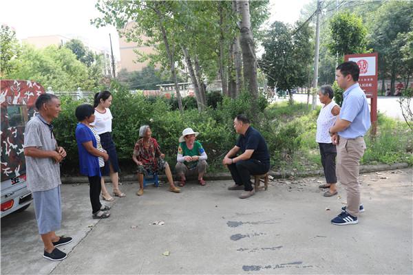周口中院副院长温新征到项城、川汇区检查指导部分人民法庭工作