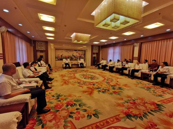 共谋发展 互利共赢 郑州银行与许昌市政府深化银政合作