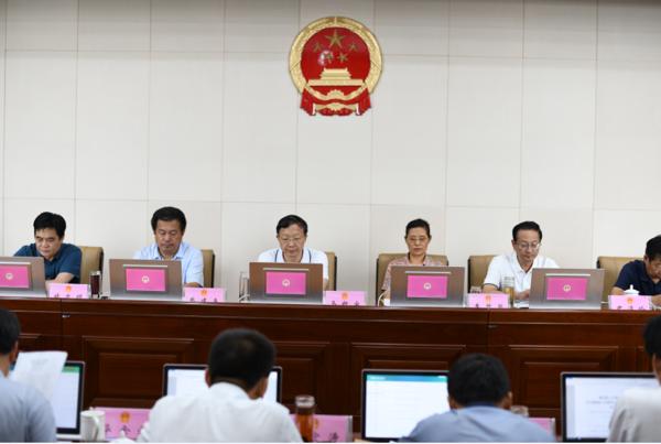 唐河县人大常委会听取审议唐河县人民法院刑事审判工作报告
