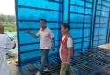 郑州市兴达路街道志愿队积极开展雨后工地安全检查工作 强化安全生产红线意识