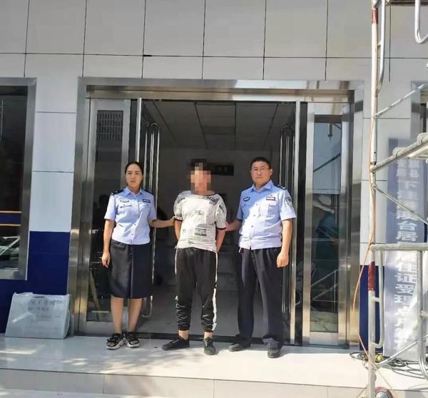社旗县下洼派出所户籍民警在工作中发现并抓获一名网上逃犯