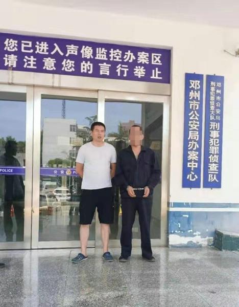 邓州民警走访时抓获一名盗窃犯罪嫌疑人带破案件17起