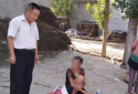邓州民警张红阳走访时救助一名流浪老人