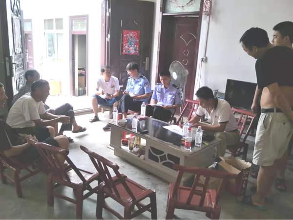 内乡县岞曲镇派出所:扎实开展好征兵政审工作