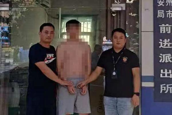 邓州:前进派出所教导员周华在走访中获线索抓获一名网上逃犯