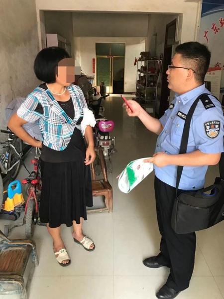 新野民警李峰:走访途中制止电信诈骗 避免群众财产损失