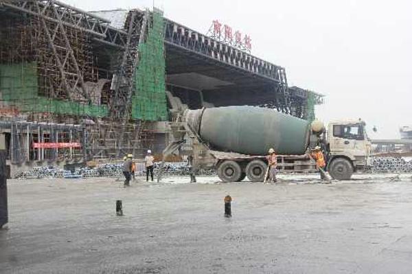南阳市高铁片区建设持续发力
