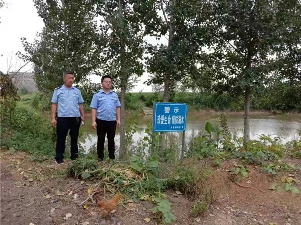 邓州赵集派出所从源头预防溺水事故发生