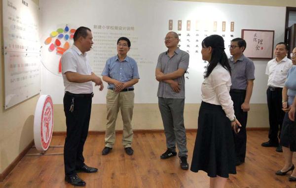 上街区迎接郑州市2019年秋季开学暨学校安全风险防控专项督导检查