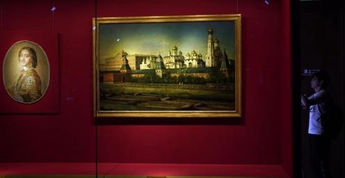 莫斯科克里姆林宫宫廷艺术珍品亮相紫禁城
