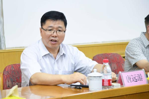 河南省市场监管局党组书记马林青一行调研河南省工商行政管理学校