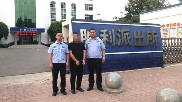 邓州:胜利派出所抓获一名涉嫌合同诈骗10多万元的网上逃犯