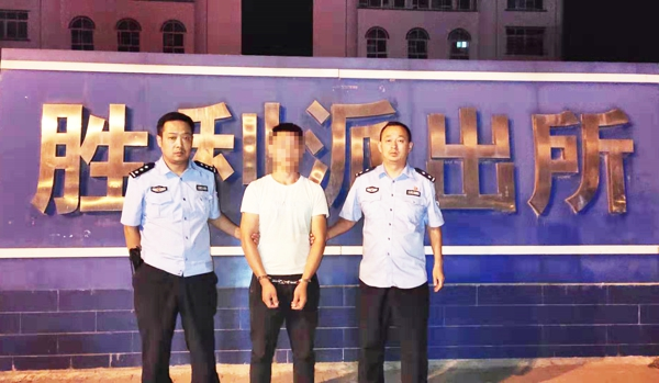 邓州:胜利派出所劝投一名涉嫌寻衅滋事逃犯