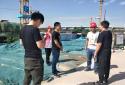 """郑州市兴达路街道:安全检查""""大兵团"""" 建筑工地除隐患"""