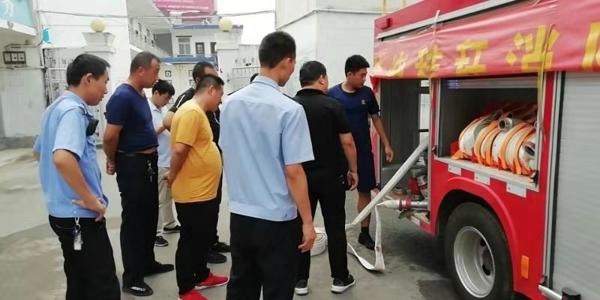 邓州:高集派出所开展消防安全培训