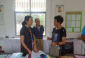 内乡县教体局副局长韩保国检查指导学校开学工作
