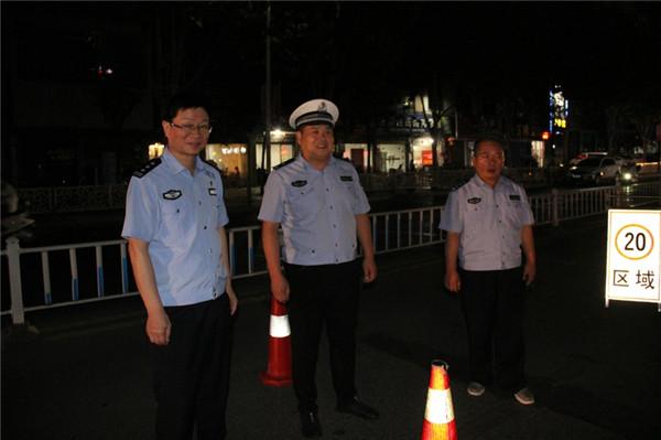 新野县公安局开展节前社会治安清查行动