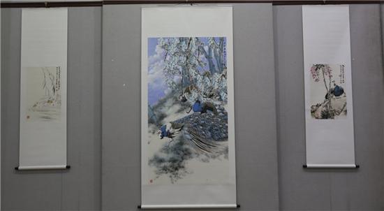 凤舞中原——周卫民、李彦书画作品展在河南大观美术馆举行