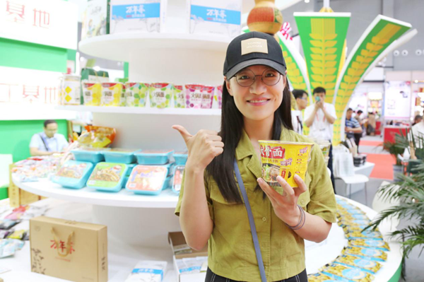 白象食品亮相第22届中国农产品加工投洽会 主打健康产品备受与会者好评