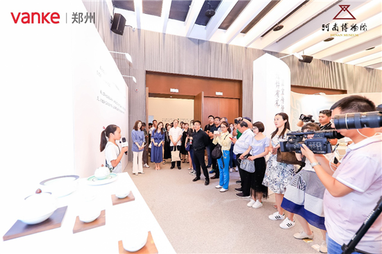 豫博记忆 河南博物院、郑州万科联名文创展亮相北京世园会
