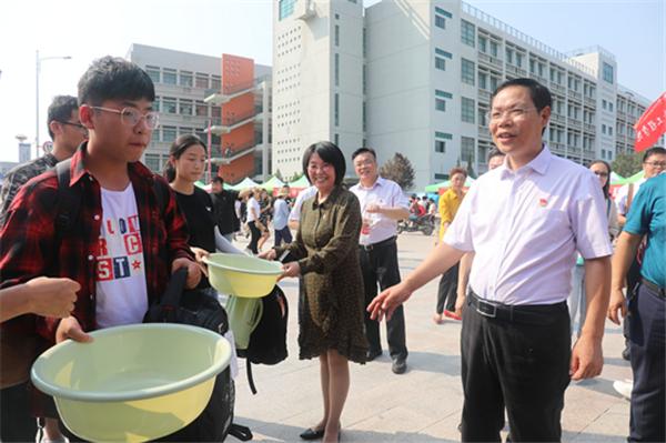 黄河水利职业技术学院喜迎2019级新生