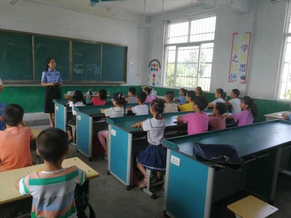 邓州:穰东派出所开展法制教育进校园活动