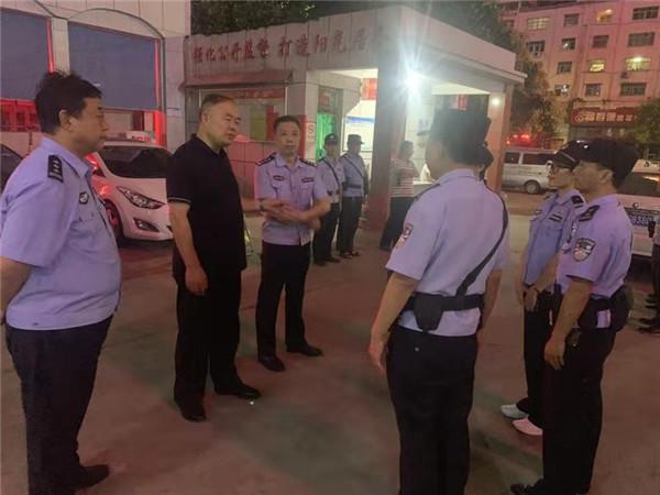 南阳市公安局监管支队与卧龙岗分局联合开展集中清查行动