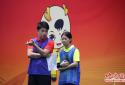 第11届全国民族传运动会男女混合双蹴项目 福建队成功夺冠