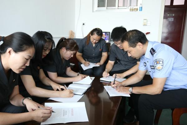 宛城区法院组织干警学习李庆军先进事迹