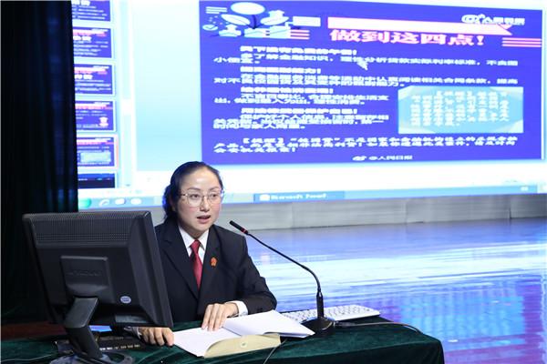 邓州法院:开学第一堂法治课走进南阳幼师