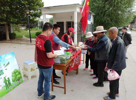 郑州市兴达路街道:科普宣传进乡村 传播健康新理念