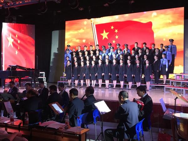 卧龙区法院在庆祝建国七十周年职工合唱比赛中荣获佳绩