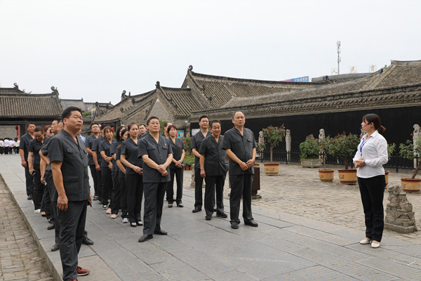 内乡法院组织党员干部参观县衙官德文化和廉政教育基地