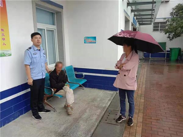 邓州赵集民警积极救助迷路老人回家