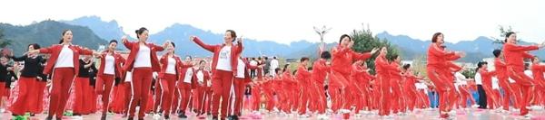超震撼!栾川千人齐舞,共同庆祝新中国成立70周年!