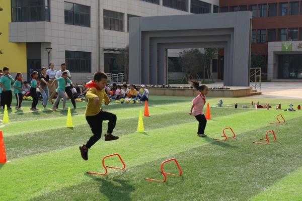 郑州市中原区新街坊小学举行第二届体育达标趣味运动会