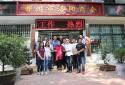 著名艺术家马金凤莅临郑州市洛阳商会参观指导