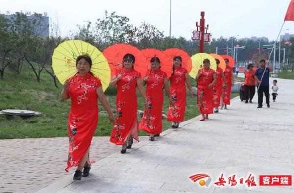 枣乡添新景 群众乐游园