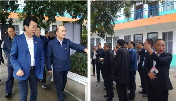 杨曙光带领全县主要干部寻访红色圣地兰田