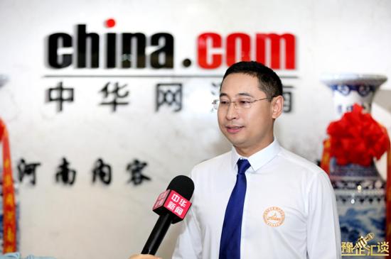 """【豫企汇谈•第13期】""""霸道总裁""""崔国君:致力于打造中国最大的实践教育基地"""