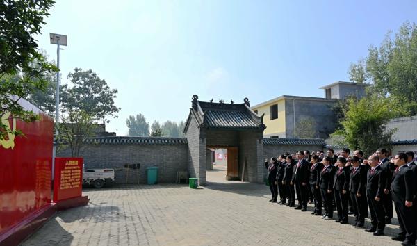 南阳高新区法院组织党员干警到中共南阳第一支部旧址参观学习
