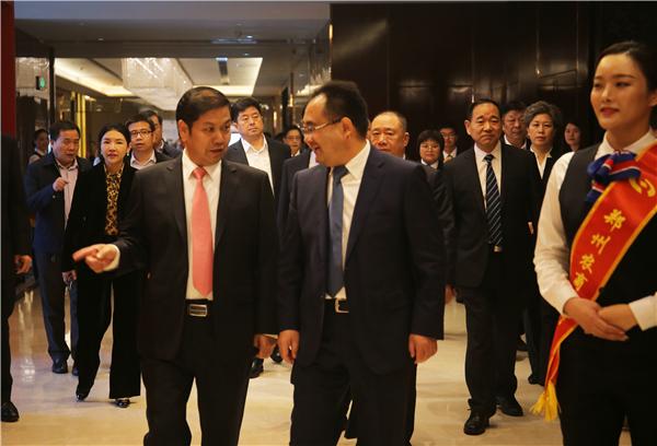 郑州农商银行开业暨银企签约仪式成功举办——继往开来 郑州农商银行扬帆起航