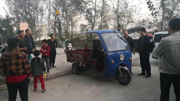 牢记使命 不惧困难——新野县公安局汉华派出所破获系列盗窃三轮车案