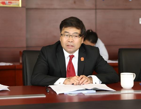 内乡县法院邀请县检察院检察长列席审委会