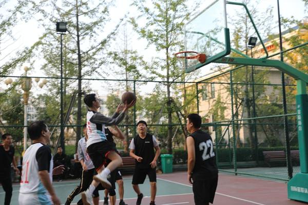 意志的胜利 ——记内乡县法院与内乡县财政局篮球友谊赛