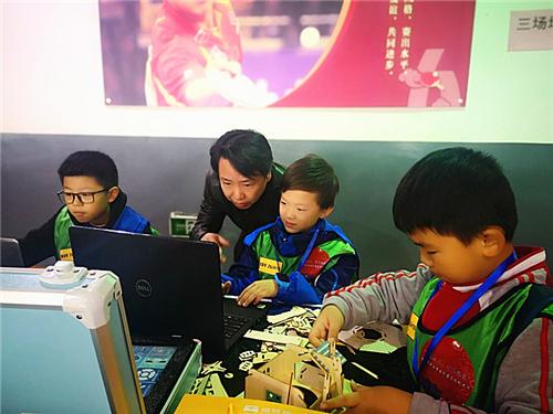 """2019 年"""" 河洛文化、智能旅游""""中小学生创客马拉松大赛圆满收官"""