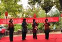 郏县文化广电和旅游局走进姚庄回族乡开展扶贫送温暖慰问演出活动